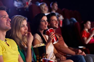 Вечірка в кінозалі